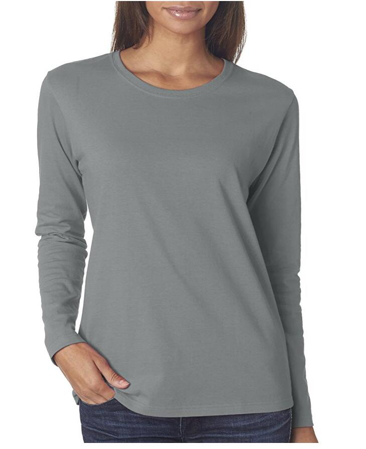 Fit Heavy Cotton Fit с длинными рукавами футболки