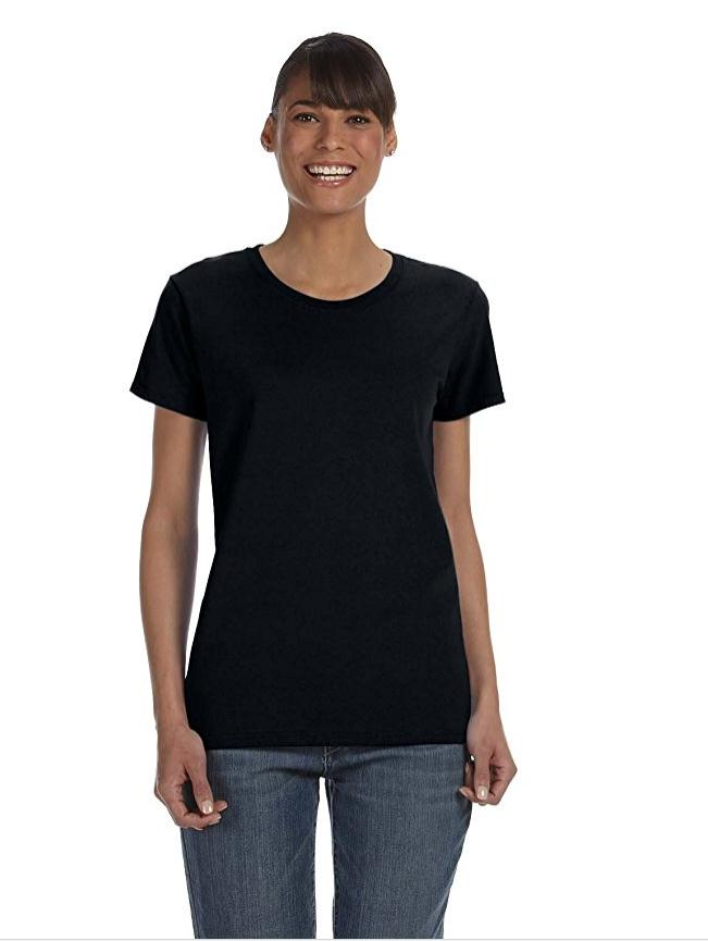 Женская Тяжелый хлопок футболки, NE-403