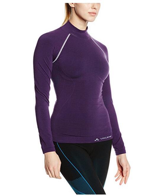 Бесшовные с длинным рукавом Женская футболка, NE-428