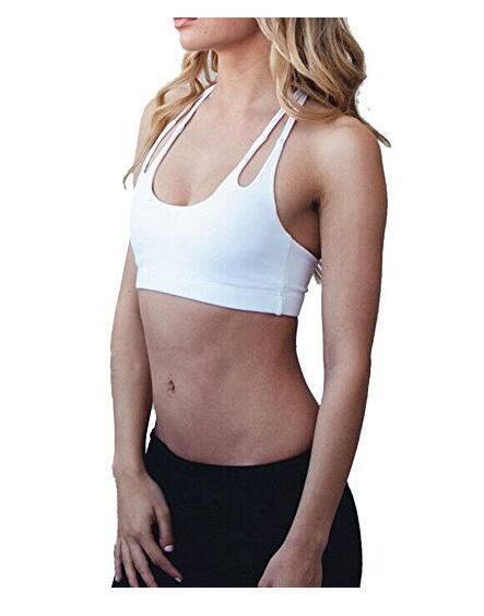 Спортивный бюстгальтер женщин Бесшовная Quick Dry Йога Фитнес Бег Нижнее белье Cami