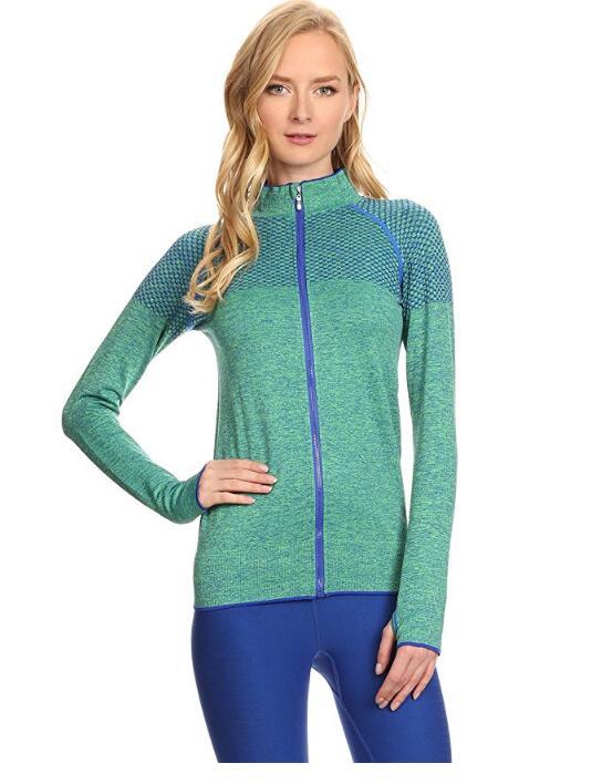 Для женщин Активный Спортивная Zip Up Jacket