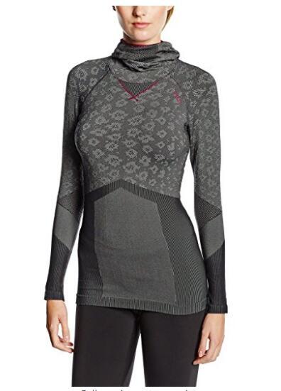 Женская Blackcomb Evolution Теплая Бесшовная рубашка с Маской для лица, NE-173