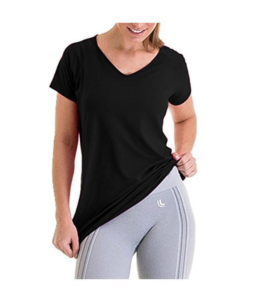 Женский Удобное Спортивное футболку, NE-414