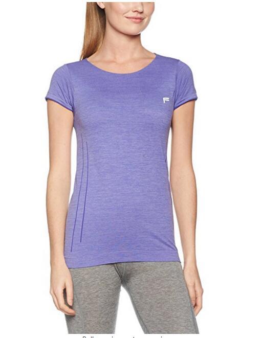 Женская Фитнес Бесшовная футболка, NE-434