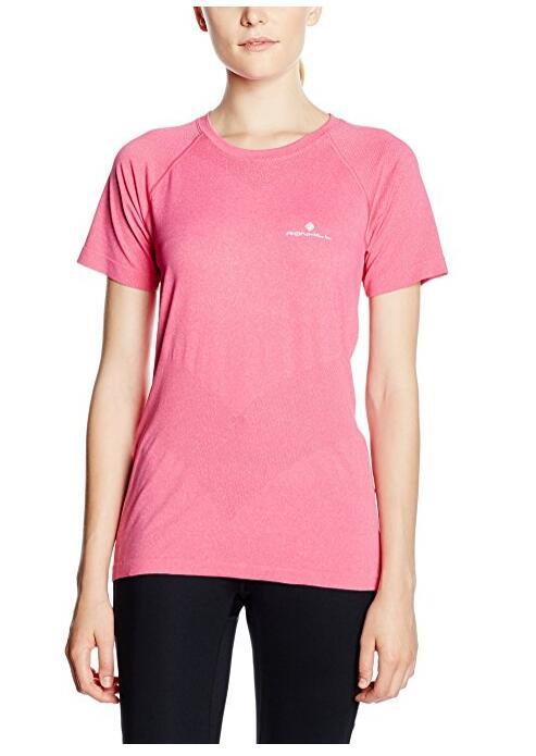 Женская Розовый спортивный Tee, NE-444