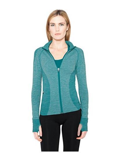 Женская Бесшовная Full Zip Jacket