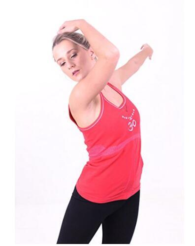 Для женщин Бесшовные мудра Mala Yoga Vest, ME-493