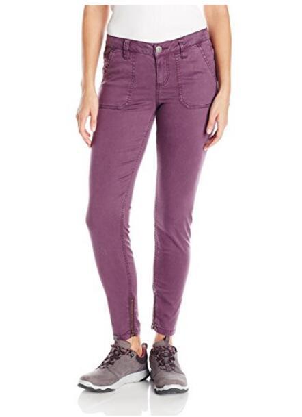 Для женщин Бесшовные Тощий Chino Pants, NE-380