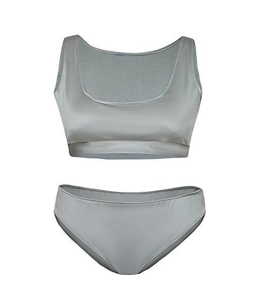 Женская сексуальная бинты бикини Set Push-вверх Уплотненная 2 Купальник