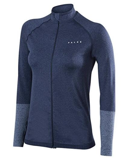 Женская куртка спорта Бесшовная