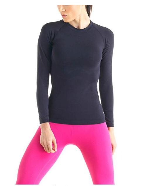 Женская Termica Запуск футболки