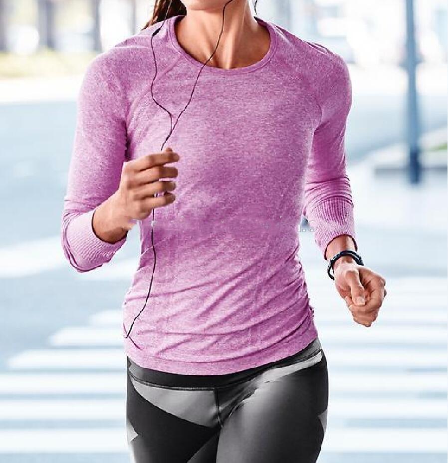 бесшовная техническая спортивная одежда для женщин
