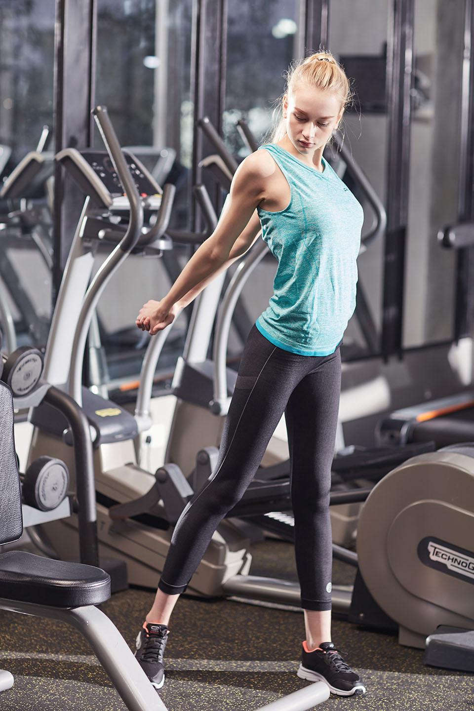 Пользовательский оптовые женщины тренировка носить бесшовный фитнес износ ActiveWear, NE298-S-1001