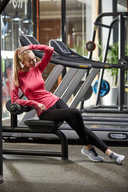 Оптовая Gym Одежда Фитнес Одежда Женщина Wear Спортивная йога Пользовательские спортивная одежда, NE298-S-1027