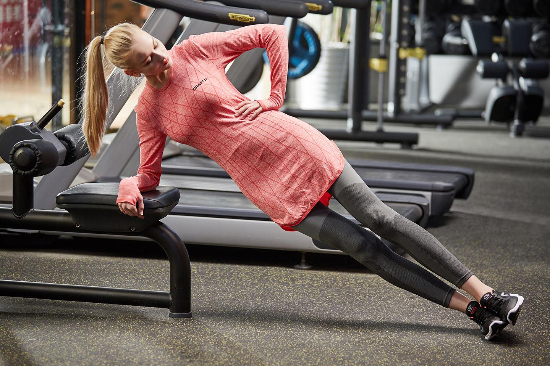 Женская Activewear Gym Wear с длинным рукавом Спортивная, NE298-S-1029