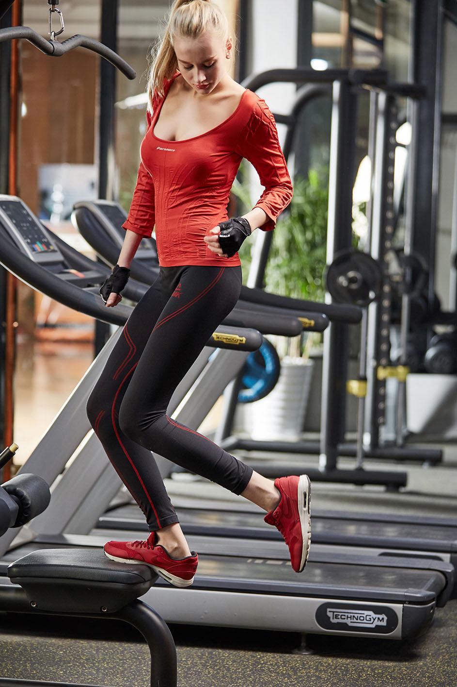 Бесшовная женщина тренировка Одежда Рубашка, NE298-S-1030
